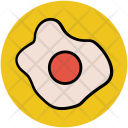 Egg Fry Breakfast Icon