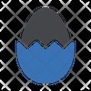 Egg Easter Yolk Icon