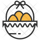 Egg Busket Basket Icon