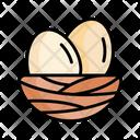 Egg Bird Nest Icon