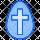 Cross Egg Icon