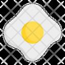 Fried Egg Fried Eggs Scrambled Eggs Icon