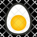 Egg Half Yolk Icon