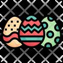 Egg Catholic Celebration Icon