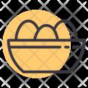 Egg Bowl Basket Icon