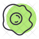 Egg Omelette Food Icon