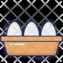 Egg Protein Food Icon