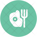 Egg And Fork Icon