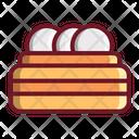 Egg Basket Food Icon