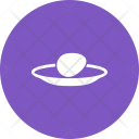 Egg Plate Food Icon