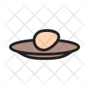 Egg In Plate Icon