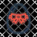 Egg Ribbon Decorate Icon
