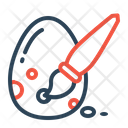 Egg Paint Decorate Icon