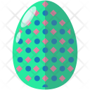 Dotted Egg Decoration Icon