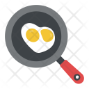 Frying Egg Breakfast Icon