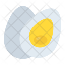 Boiled Egg Hard Boiled Icon