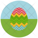 Zigzag Easter Egg Icon