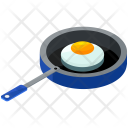 Egg Pan Fry Icon
