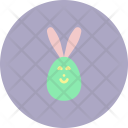 Egg Bunny Rabbit Icon