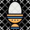 Egg Protein Boiled Icon