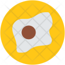 Egg Fried Breakfast Icon