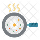 Egg Pan Cooking Icon