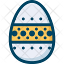 Egg Decoration Easter Icon