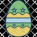 Egg Easter Egg Paschal Egg Icon