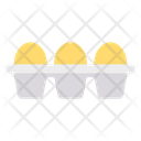 Egg Tray Omelette Icon