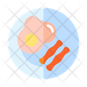 Egg And Bacon Icon