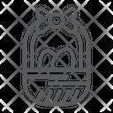 Easter Basket Decoration Icon