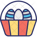 Basket Easter Food Icon