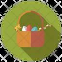Egg Basket Basket Egg Icon