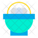 Basket Egg Eggs Icon