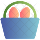 Bucket Holiday Easter Icon