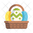 Simple Set Of 30 Easter Icons In Detailed Flat Style Icon
