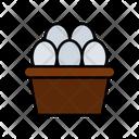 Egg Basket Egg Tray Egg Icon