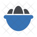 Egg Easter Bowl Icon