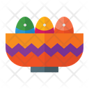 Egg Bowl Bowl Egg Icon