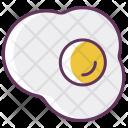 Egg Breakfast Fried Icon