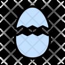 Egg Broken Halloween Icon