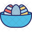 Egg Bucket Egg Bowl Icon