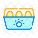 Egg Cooker Color Icon