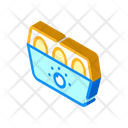Egg Cooker Isometric Icon