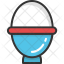 Egg Cup Boiled Icon