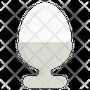 Egg Cup Egg Server Egg Holder Icon