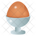 Egg Cup Boiled Egg Healthy Diet Icon