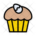 Cupcake Muffin Easter Icon