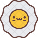 Fried Egg Meal Icon