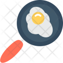 Egg Frying Cooking Icon